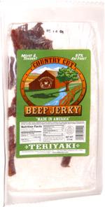 Buffalo Bills Country Cut Beef Jerky Teriyaki