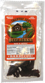Buffalo Bills Country Cut Beef Jerky Barbecue