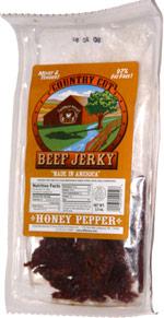 Buffalo Bills Country Cut Beef Jerky Honey Pepper