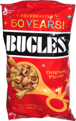 Bugles Original Flavor 50 Years!