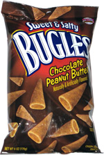 Sweet & Salty Bugles Chocolate Peanut Butter