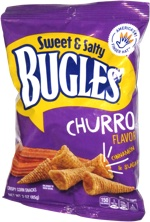 Sweet & Salty Bugles Churro Flavor