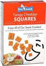 Busy Baker Tangy Cheddar Squares