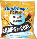 Butterfinger Bites Lumps of Coal