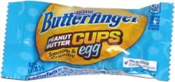 Butterfinger Peanut Butter Cups Egg