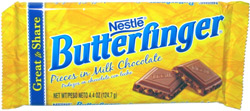 Nestle Butterfinger Pieces in Milk Chocolate