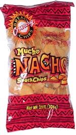 Crunchy Bread Chips Mucho Nacho Snack Chips