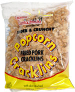 Carolina Country Snacks Tender & Crunchy Fried Pork Cracklins