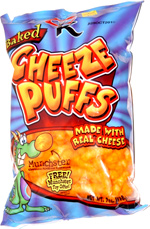 Baked Cheeze Puffs