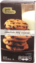 CVS Gold Emblem Absolutely Divine Chocolate Chip Cookies