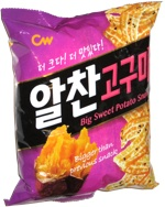 CW Big Sweet Potato Snack