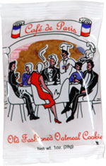 Cafe de Paris Old Fashioned Oatmeal Cookie