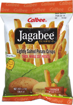 Jagabee Lightly Salted Potato Crisps