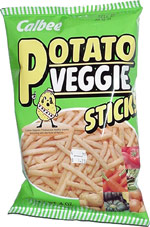 Calbee Potato Veggie Sticks