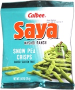 Saya Wasabi Ranch Snow Pea Crisps