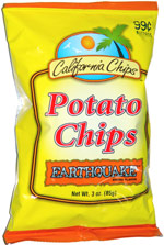 California Chips Earthquake Potato Chips