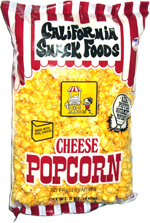 California Snack Foods Cheese Popcorn