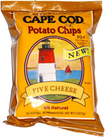 Cape Cod Potato Chips Five Cheese