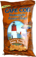 Cape Cod Homestyle Potato Chips Cinnamon & Sugar Sweet Potato