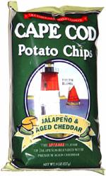 Cape Cod Potato Chips Jalapeño & Aged Cheddar