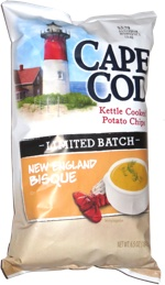 Cape Cod Kettle Cooked Potato Chips New England Bisque