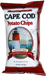 Cape Cod Nantucket Spice Potato Chips