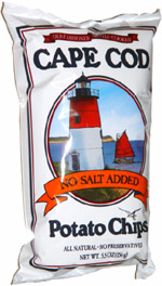 Cape Cod No Salt Added Potato Chips