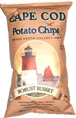 Cape Cod Potato Chips Whole Earth Collection Robust Russet