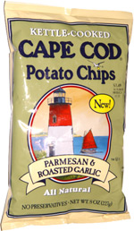 Cape Cod Potato Chips Parmesan & Roasted Garlic