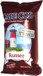 Cape Cod Kettle Cooked Potato Chips Russet