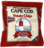 Cape Cod Potato Chips Sea Salt & Cracked Pepper