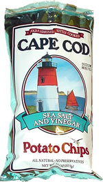 Cape Cod Sea Salt and Vinegar Potato Chips