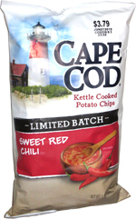Cape Cod Kettle Cooked Potato Chips Limited Batch Sweet Red Chili