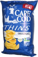 Cape Cod Potato Chips Thins Original