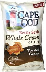 Cape Cod Kettle Style Whole Grain Chips Toasted Grains