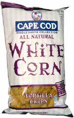 Cape Cod Whole Earth Collection White Corn Tortilla Chips