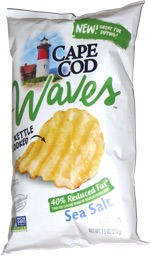 Cape Cod Waves 40% Reduced Fat Sea Salt