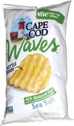 Cape Cod Waves 40% Reduced Fat Sea Salt