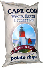 Cape Cod Whole Earth Collection Robust Russet Potato Chips
