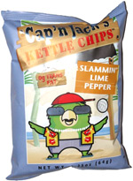 Cap'n Jack's Kettle Chips Slammin' Lime Pepper