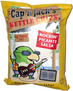 Cap'n Jack's Kettle Chips Rockin' Picante Salsa