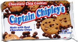 Captain Chipley's Chocolate Chip Cookies