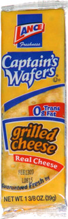 Captain's Wafers Grilled Cheese