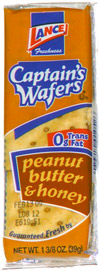 Captain's Wafers Peanut Butter & Honey