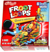 Froot Loops Cereal & Milk Bars