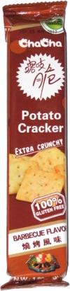 ChaCha Potato Cracker Barbecue Flavor