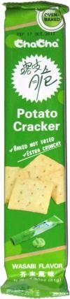 ChaCha Potato Cracker Wasabi Flavor