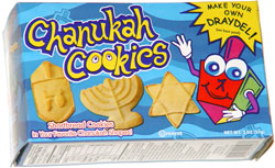 Rite Lite Chanukah Cookies