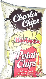 Charles Chips Barbecue Flavored Potato Chips