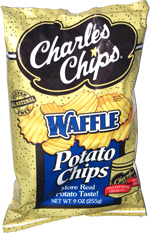 Charles Chips Waffle Potato Chips